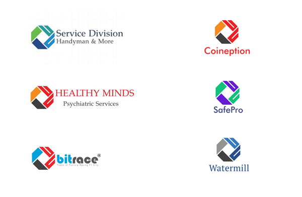 Exemplo de empresas diferentes com logótipo igual!