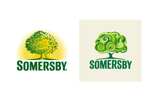 9711cf5e7 A Somersby apareceu com um novo logótipo e à primeira vista não é melhor  que o anterior